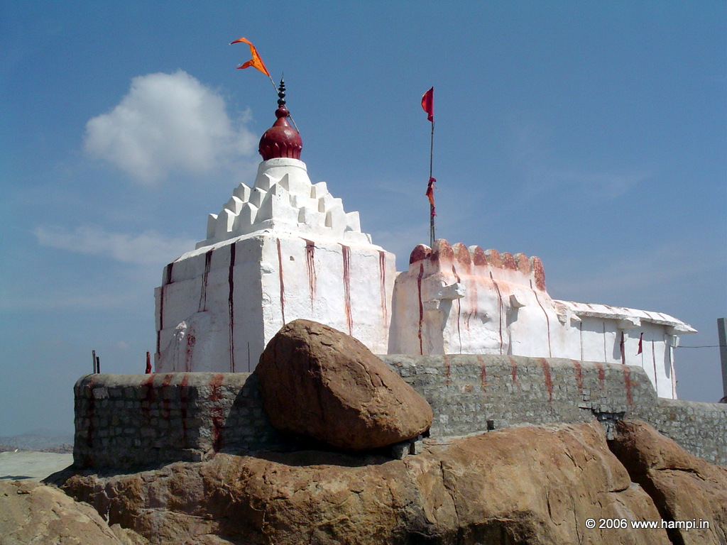 Anjaneya Hill temple at the hill top