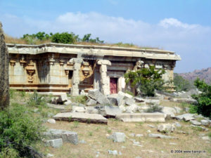 Chandramouliswara Temple before the restoration work.