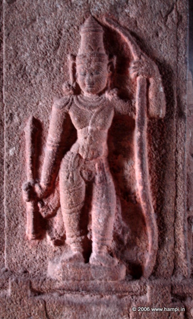 Lord Rama . Image from Pattabhirama Temple