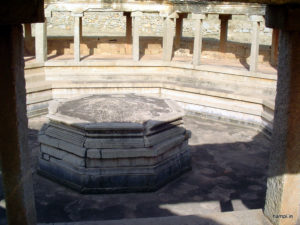 Octagonal Bath at Hampi