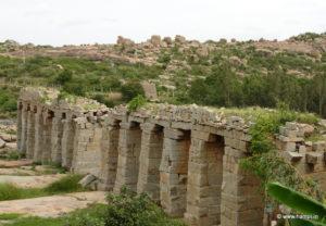 Pillars of Bukkas Aqueduct