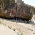 Cautious Bouldering at Hampi