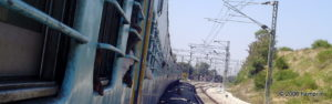 Trains via Guntakal