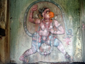 Hanuman as Anjaneya
