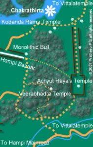 Chakratirtha location map