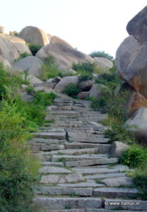 Steps leading to Matunga Hilltop