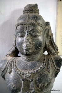 The image of the Balakrishna , that was brought from Udayagiri as war trophy . This image is on display at the state museum at Chennai