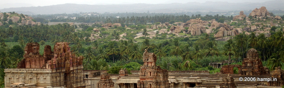 Monuments of Hampi