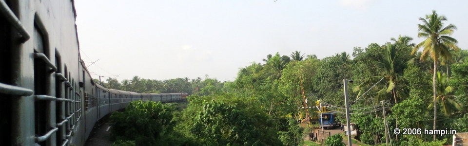 Bangalore to Hospet Passenger Train
