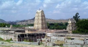 Virupaksha Temple complex seen from the Hemakutta Hills