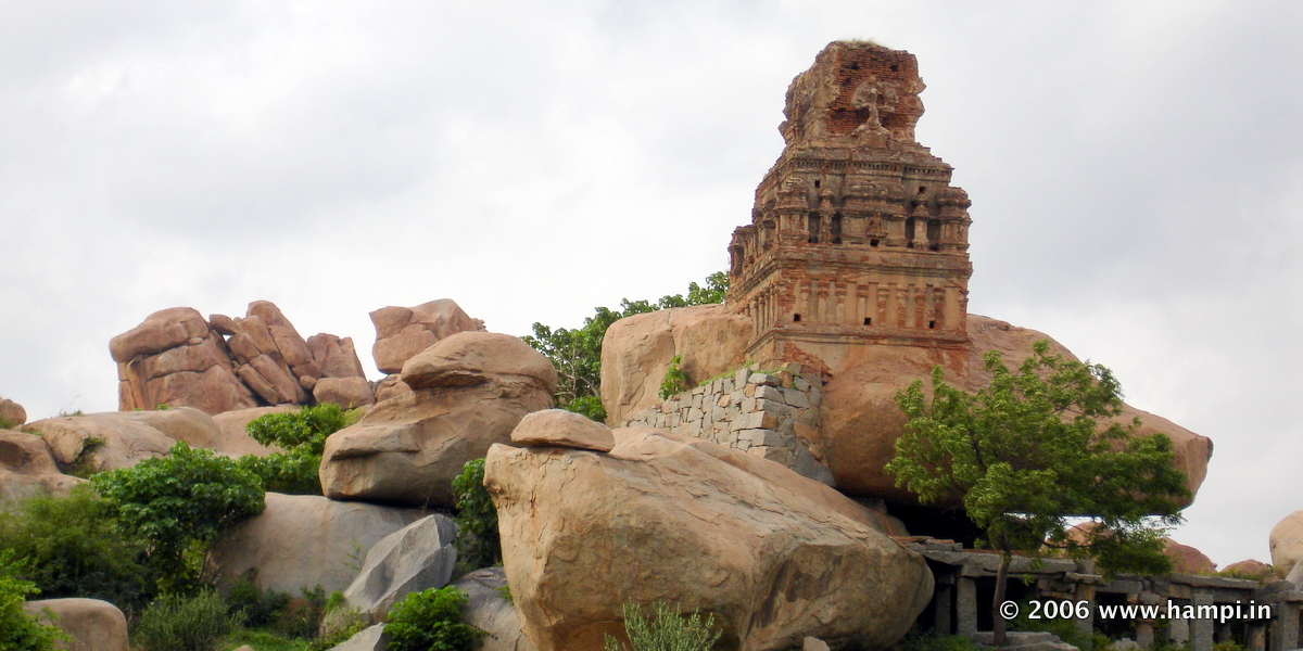 Hampi has numerous such structures all round the ruins site.